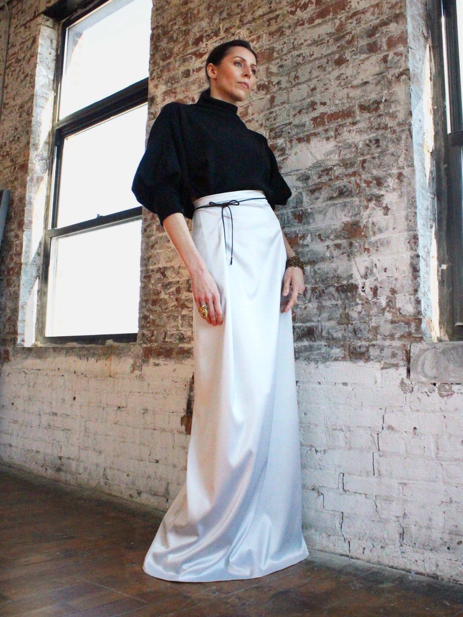 Ying Cai _ AW20 Look 9 Skirt 4