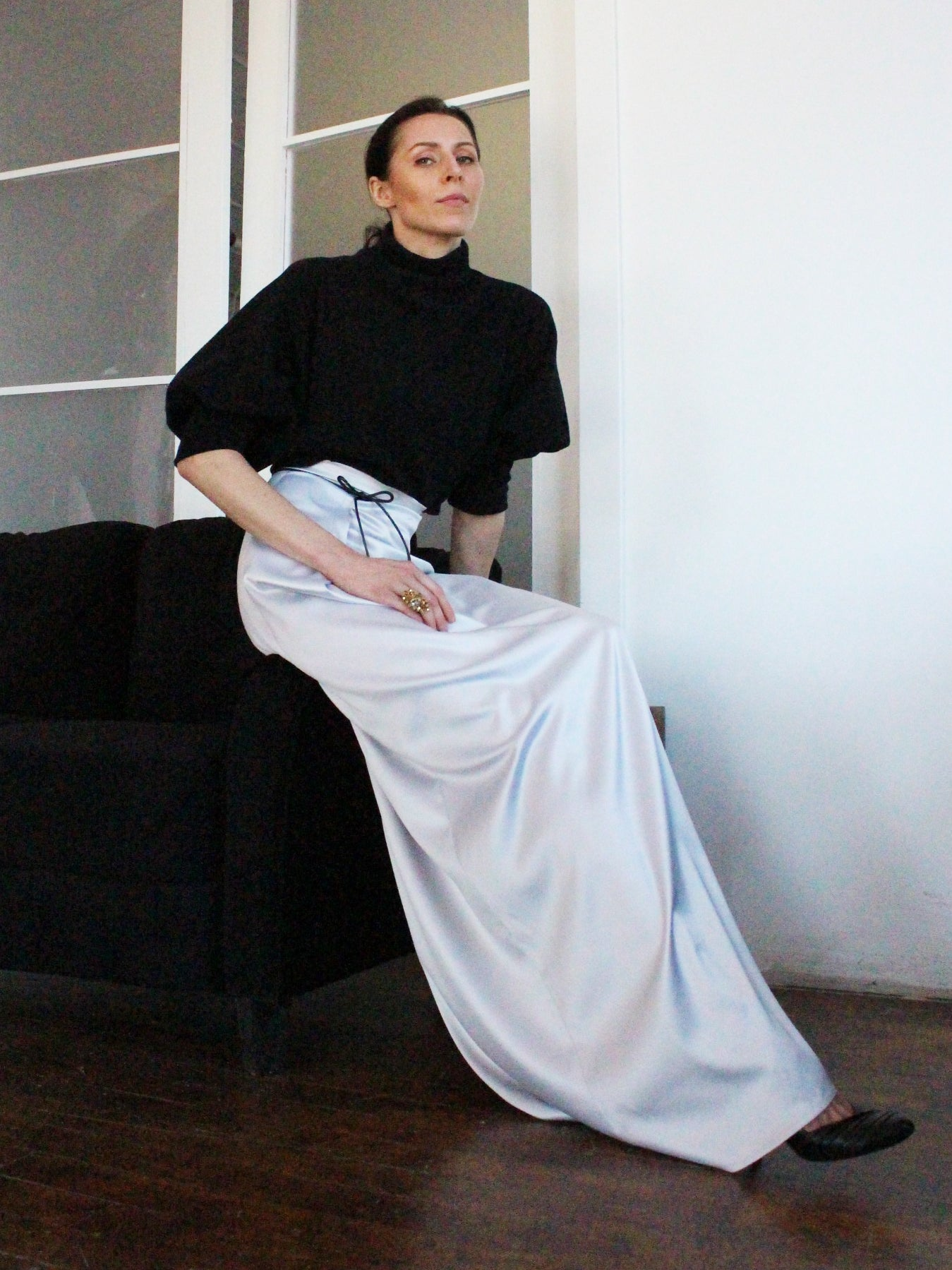 Ying Cai _ AW20 Look 9 Skirt 5