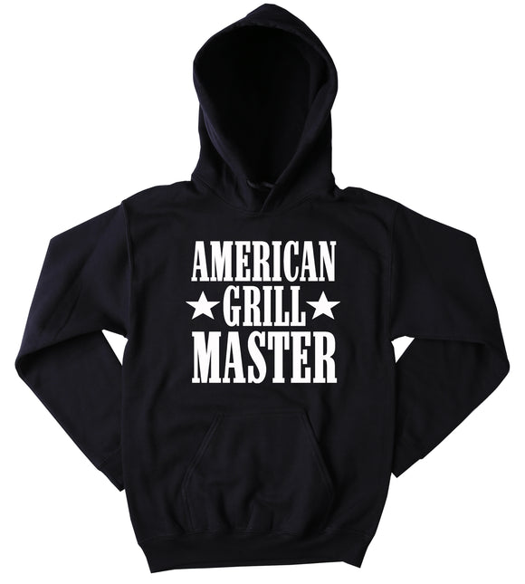 Funny American Grill Master Sweatshirt Southern Country Merica Cowboy Western Food Tumblr Hoodie