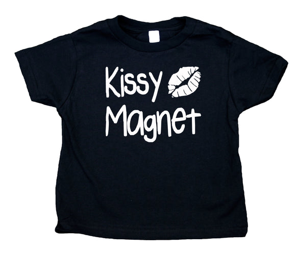Kissy Magnet Toddler Shirt Funny Cute Sweet Boy Girl Kids Birthday Clothing