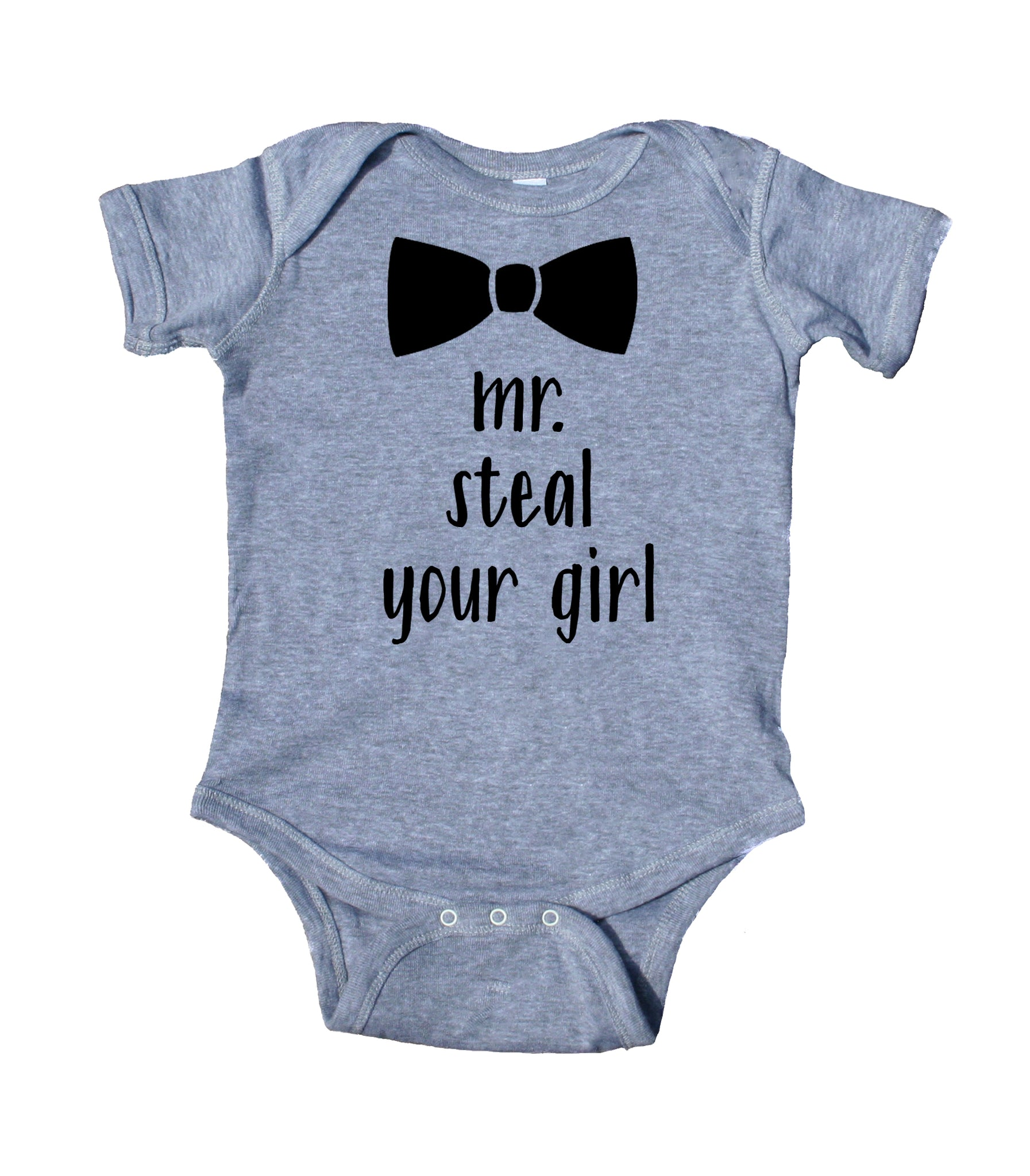 5609b860b14f ... Mr Steal Your Girl Baby Bodysuit Funny Cute Boy Newborn Gift Baby  Shower Infant Clothing ...