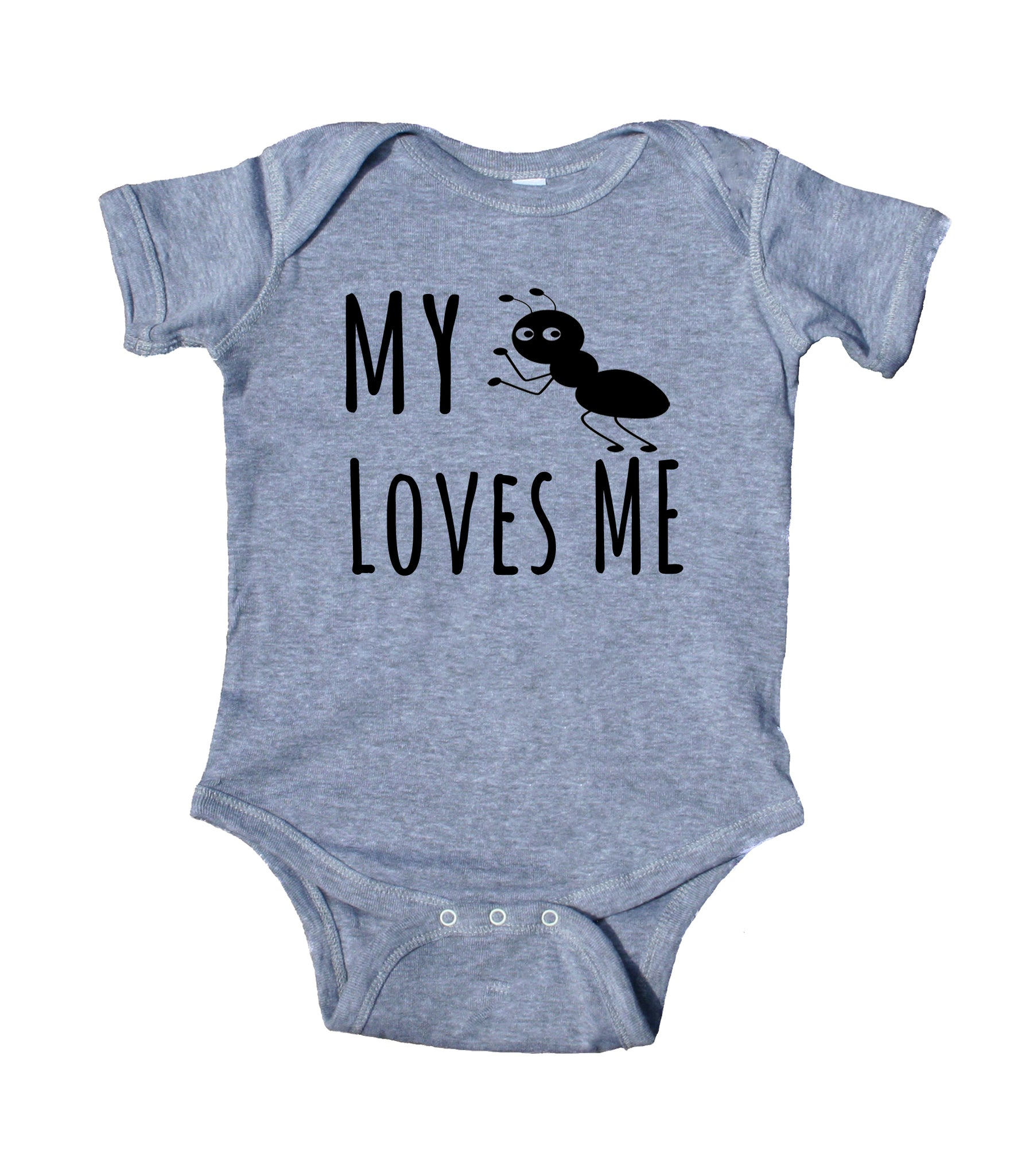 25a97988a ... My Aunt Loves Me Baby Bodysuit Funny Cute Baby Infant Girl Boy Birthday  Shower Gift Clothing