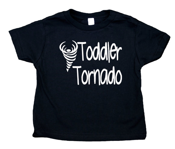 Toddler Tornado Toddler Shirt Funny Cute Boy Clothes Kids Birthday Clothing