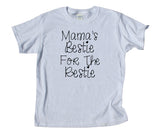 Moma's Bestie For The Restie Youth Shirt Funny Cute Best Friends Girls Boys Kids Clothing T-shirt