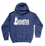 Halloween Mom Hoodie Momster Monster Mom Halloween Costume Party Sweatshirt