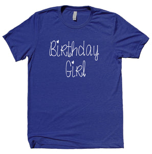 Birthday Girl Shirt Party Outfit Birthday Party Present Gift T-shirt