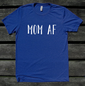 Mom As F Shirt Funny Stay At Home Mommy Cute Mama Family Gift T-shirt
