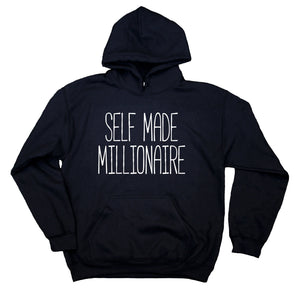 7939788ec Self Made Millionaire Sweatshirt Entrepreneur Girl Boss Clothing State –  Sunray Clothing