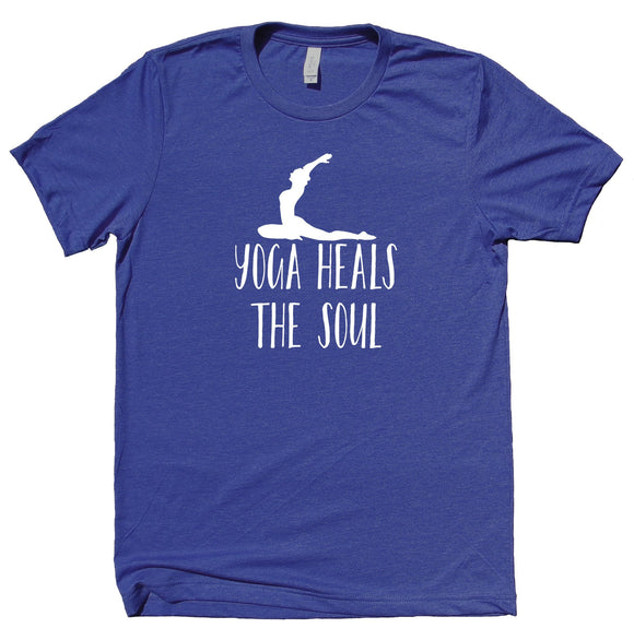 Yoga Heals The Soul Shirt Spiritual Yogi Meditate Meditation T-shirt
