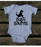 Dad and Baby Matching Outfits Daddy Sauras Baby Sauras Shirts Dinosaur Boy Son Clothing