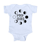 Moon Child Bohemian Baby Boy Girl Onesie