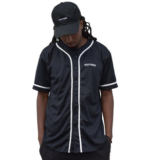 Streetwear-Handsewn Scattered Baseball Jersey-Jersey-Scattered, LLC