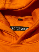Hand Sewn Orange Box Logo Hoodie