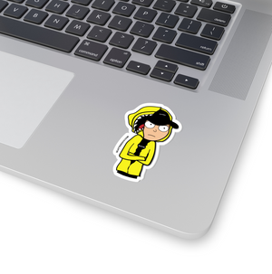 Streetwear-Scattered Morty Sticker-Sticker-Scattered, LLC