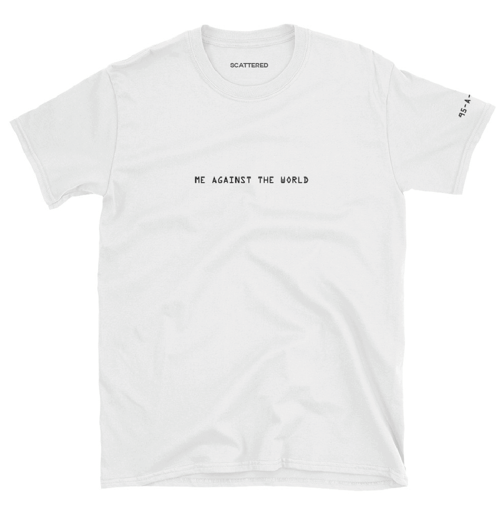 Streetwear-Me Against The World Inmate Tee-Scattered, LLC