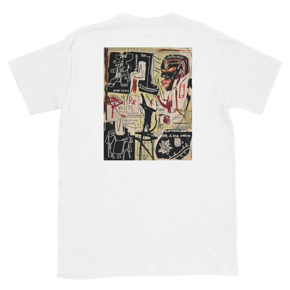 "Streetwear-Basquiat ""Melting Point of Ice"" Tee-Scattered, LLC"