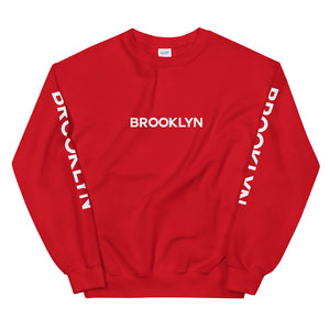 Brooklyn Logo Sleeve Crewneck