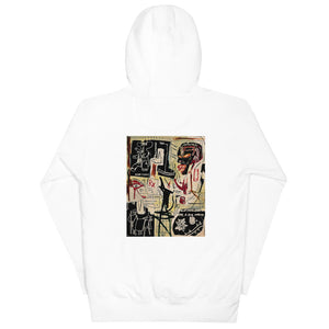"Scattered Basquiat ""Melting Point of Ice"" Hoodie"