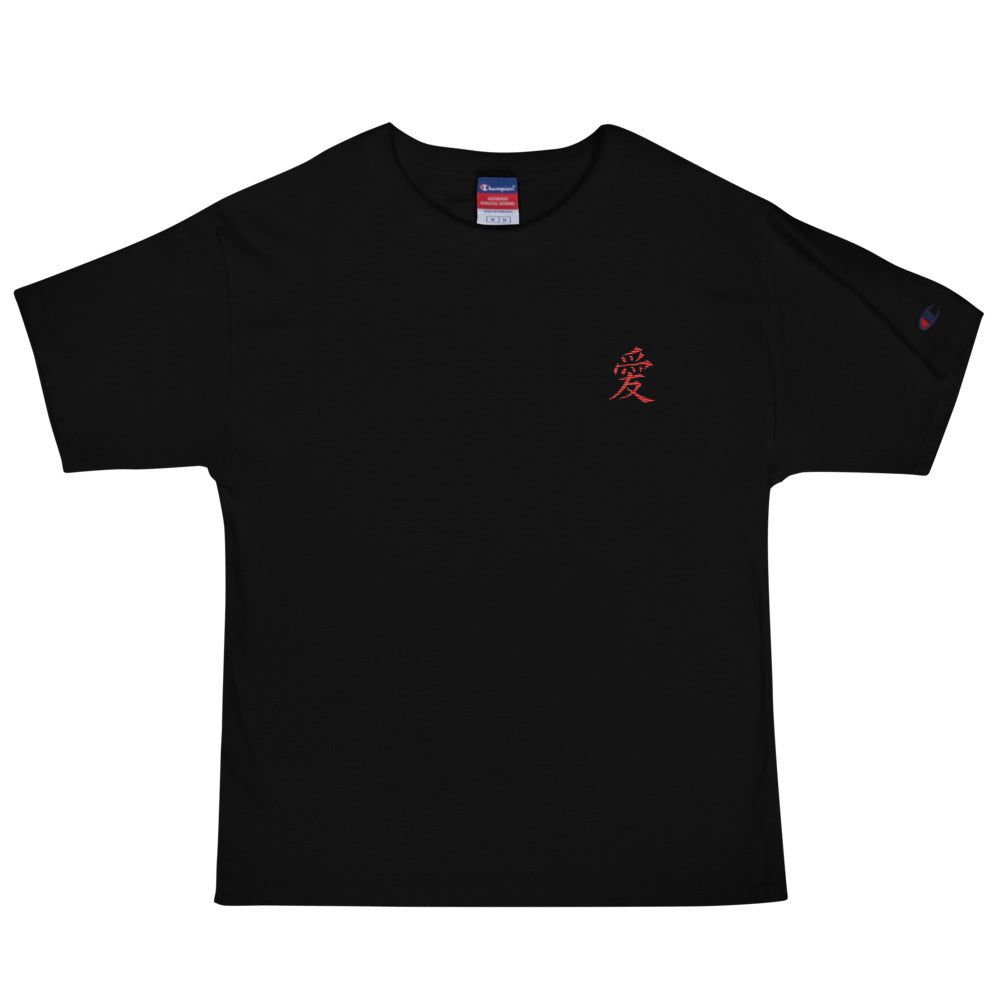 "Scattered x Champion ""LOVE"" Embroidered Tee"
