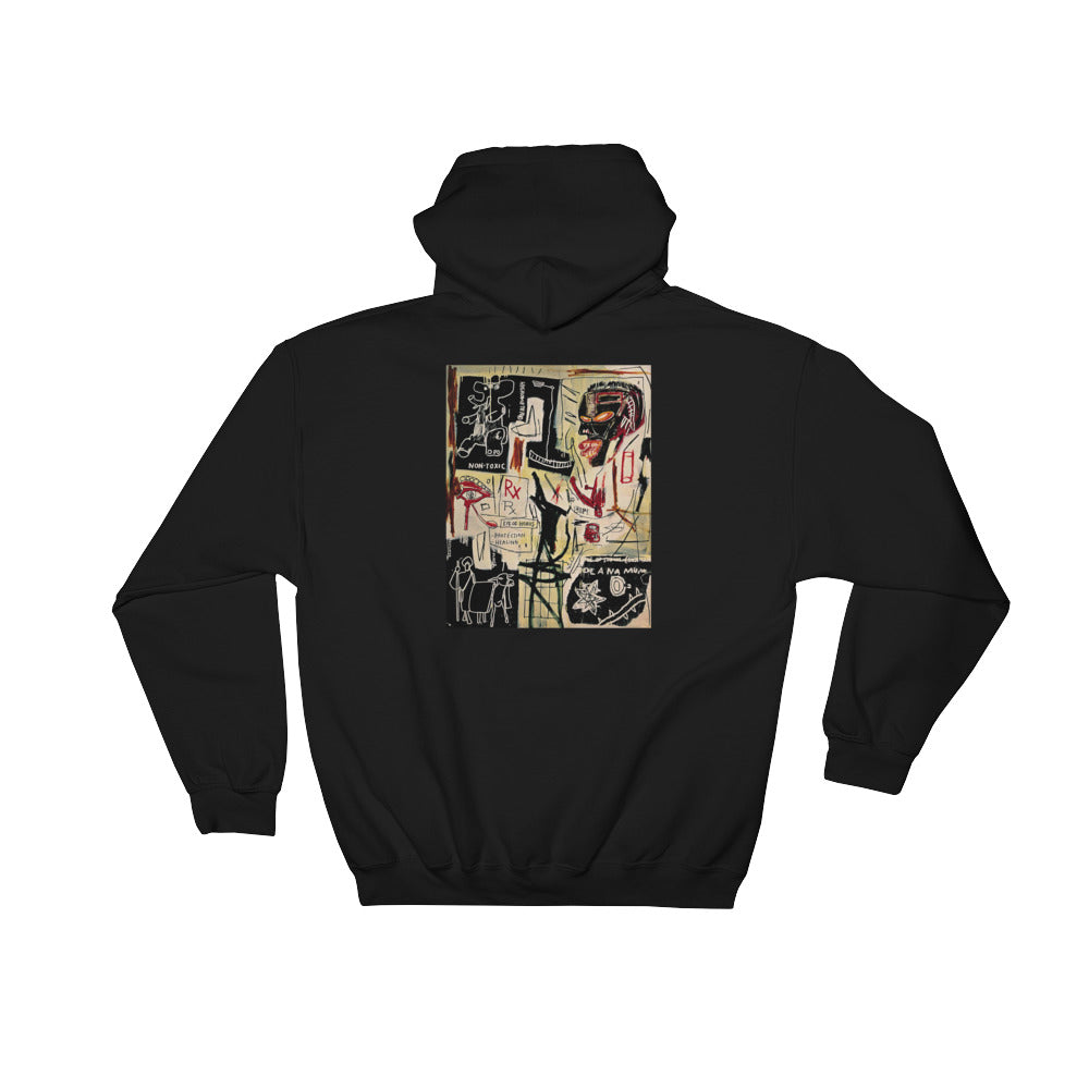 "Streetwear-Basquiat ""Melting Point of Ice"" Hoodie-Scattered, LLC"