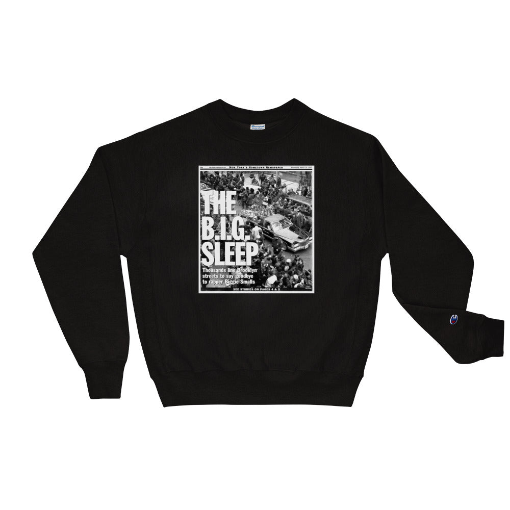 Scattered x Champion Biggie Crewneck