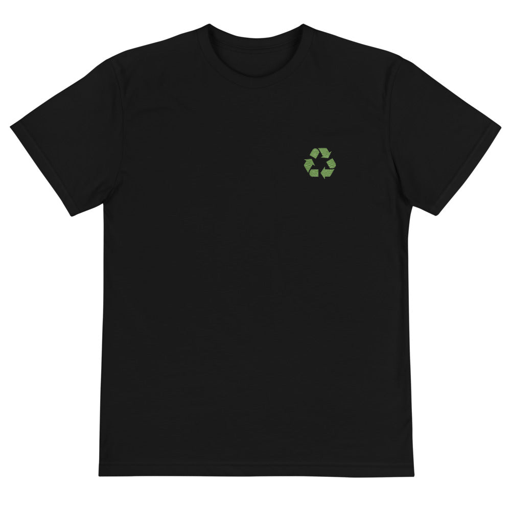 Eco Embroidered Recycle Tee