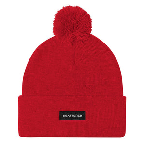 Streetwear-Scattered Box Logo Beanie-Scattered, LLC