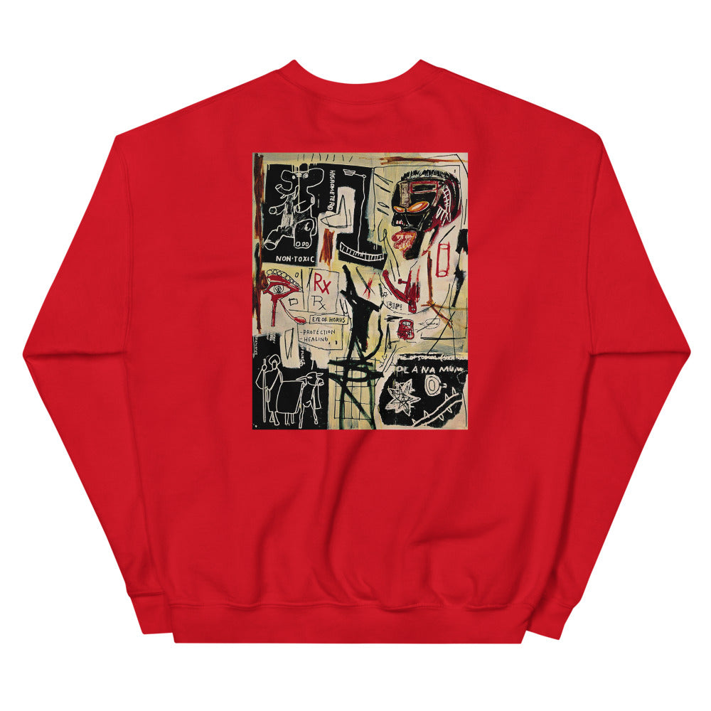 "Basquiat ""Melting Point of Ice"" Crewneck"