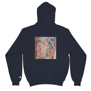 Scattered x Champion Picasso Hoodie