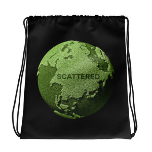Scattered x BRAST Logo Drawstring Bag