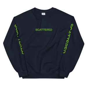 Scattered x Dripped Gawd Crewneck