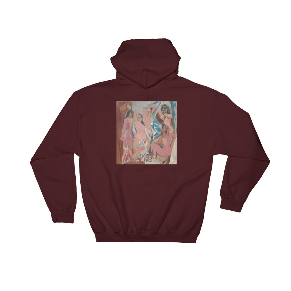 "Streetwear-Picasso ""Brothel of Avignon"" Hoodie-Scattered, LLC"