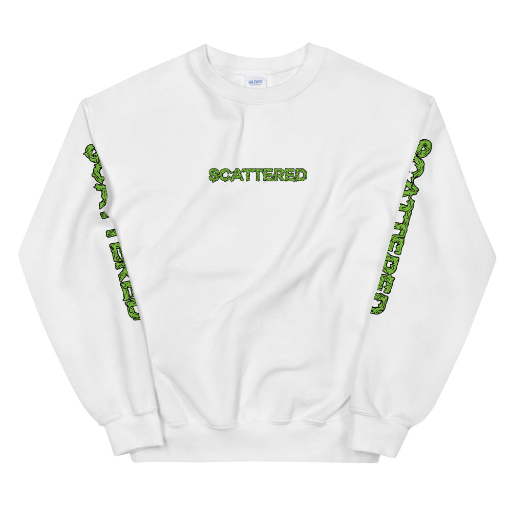 Scattered x Dripped Gawd x Gildan Crewneck