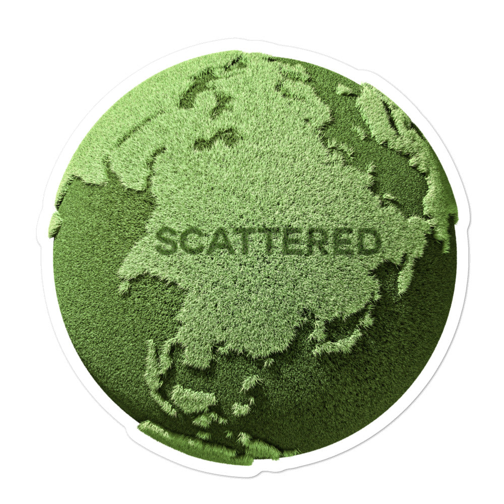 Scattered x BRAST Logo Stickers