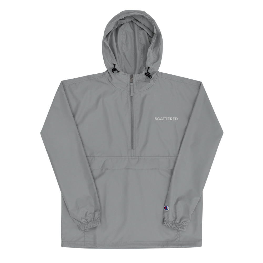 Scattered Logo Embroidered Champion Jacket