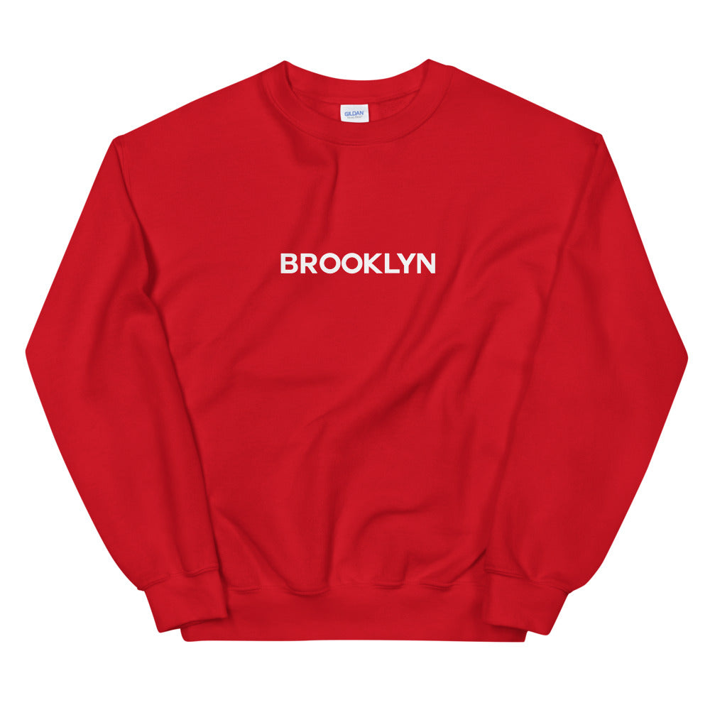 Brooklyn Logo Crewneck Sweatshirt
