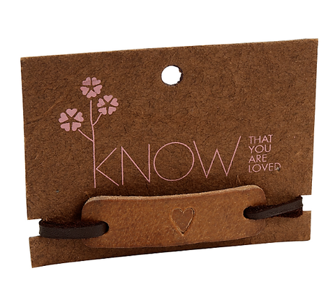 Know You Are Loved Bracelet