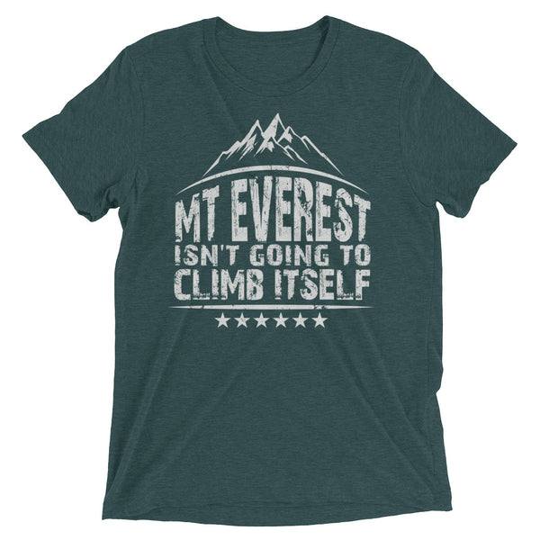 Inspirational Graphic Short sleeve t-shirt: Mt Everest