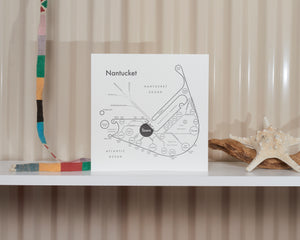 Nantucket Map Print