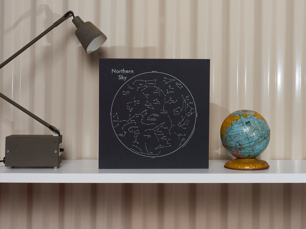Northern Sky Constellation Print