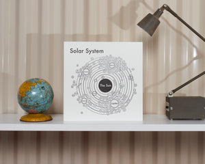 Solar System in Silver