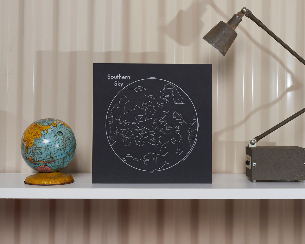 Southern Sky Constellation Print