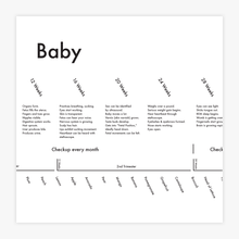 Baby Tracking Chart