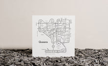 Queens NYC Map Print