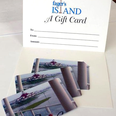 Fager's Island Gift Card
