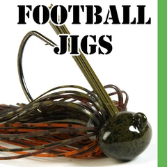 Football Head Jigs