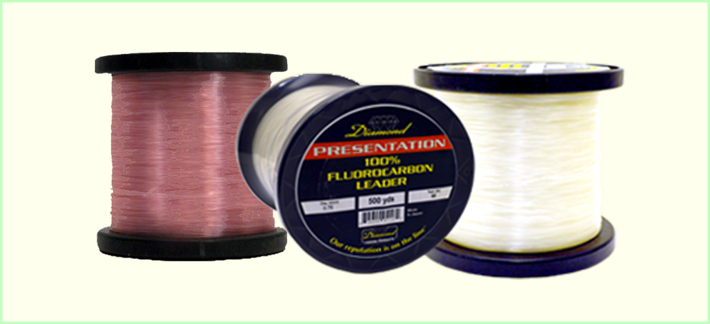 Diamond Presentation Fluorocarbon Leader (500 Yards)