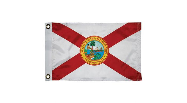 "Taylor Made Florida Flag 12"" x 18"""