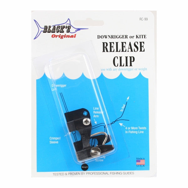 Black Marine RC99 Downrigger Kite Release Clip