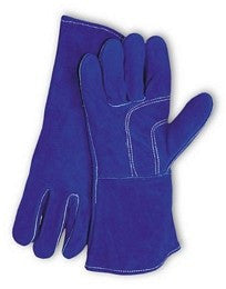 Blue Welders Gloves